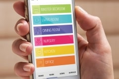 SmartPhone-PowerView-Duette-Motorisation