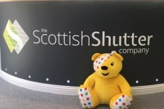 Pudsey @ The Scottish Shutter Copany