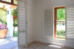 Security Shutters in a Living Room