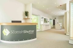 The Scottish Shutter Company Showroom in Edinburgh
