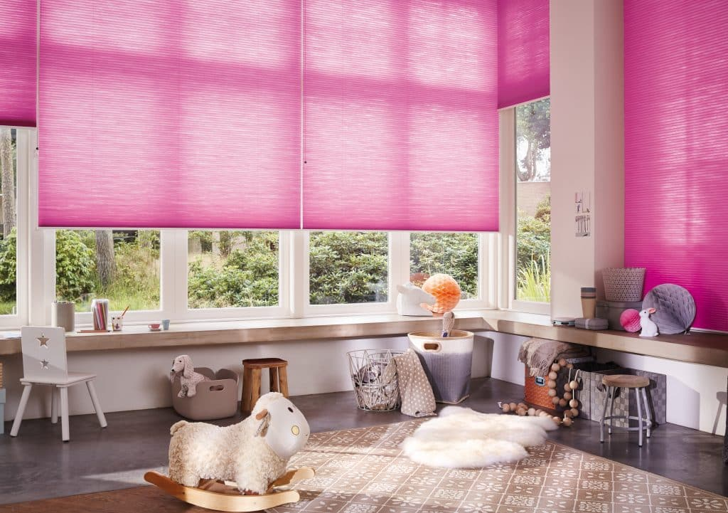 Child Safe Luxaflex SmartCord Operated 25mm Duette Blinds