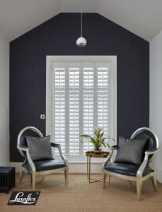 Faux Wood Full Height Interior Shutters from The Scottish Shutter Company