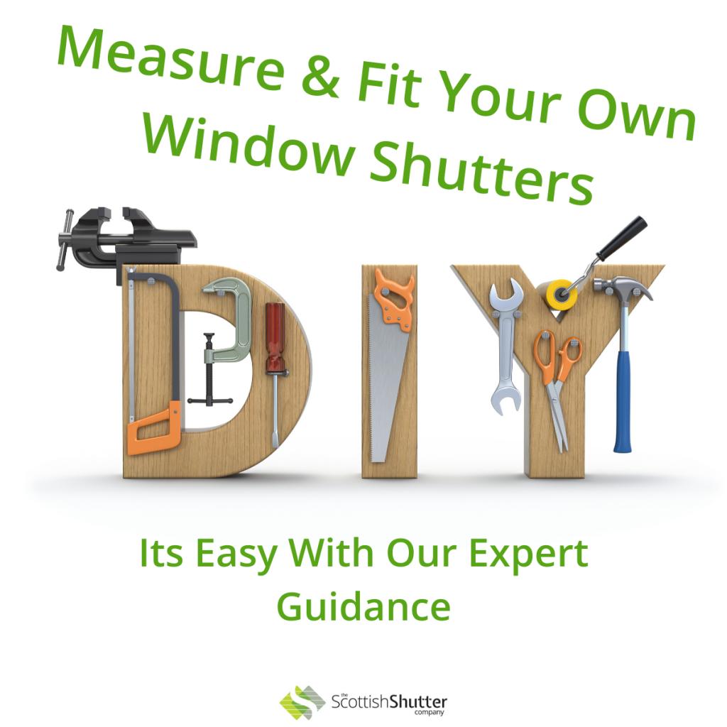 DIY Window Shutters from The Scottish Shutter Company