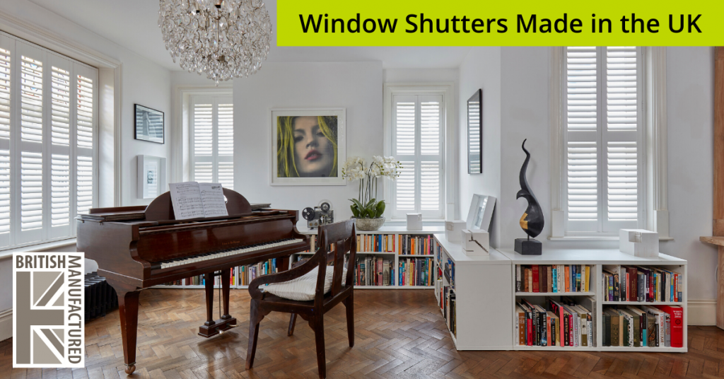 Window Shutters Made in the UK from The Scottish Shutter Company