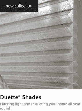 Luxaflex Energy Saving Duette Blind